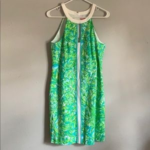 Lilly Pulitzer Fresh Citrus Green Parrot Dress